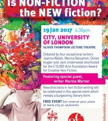 Is Non-Fiction the New Fiction? | City University, 19th Jan 2017